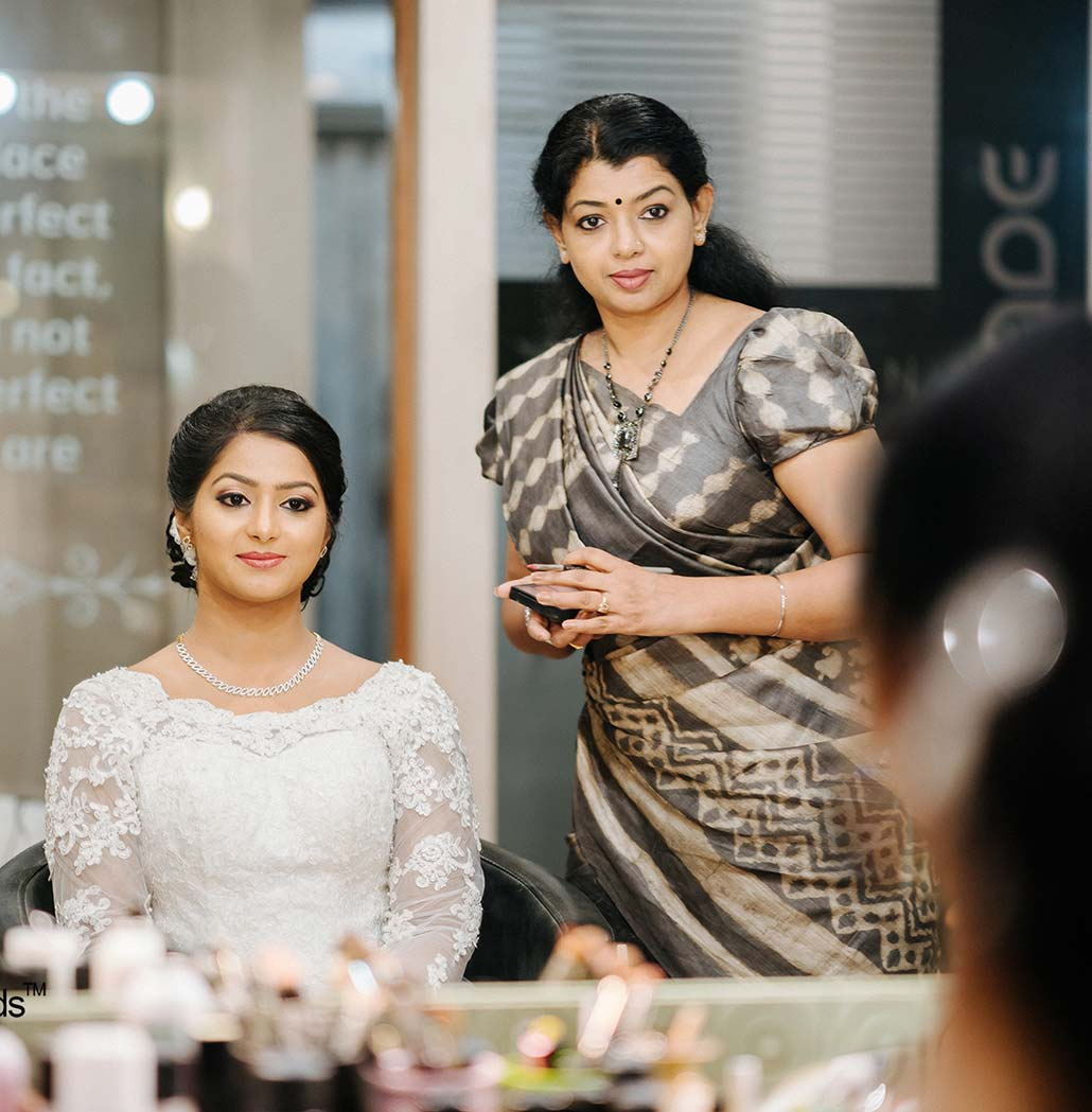 Wedding Makeup and Hairstyling